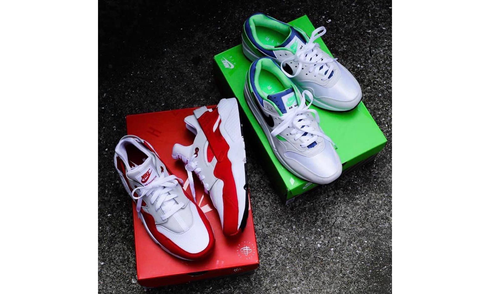 Air Huarache x Air Max 1?Nike 又推出了一双新混合鞋款