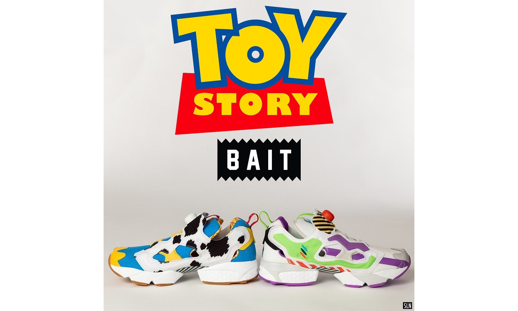 BAIT 与 Reebok 以《玩具总动员》为主题带来全新联名鞋款
