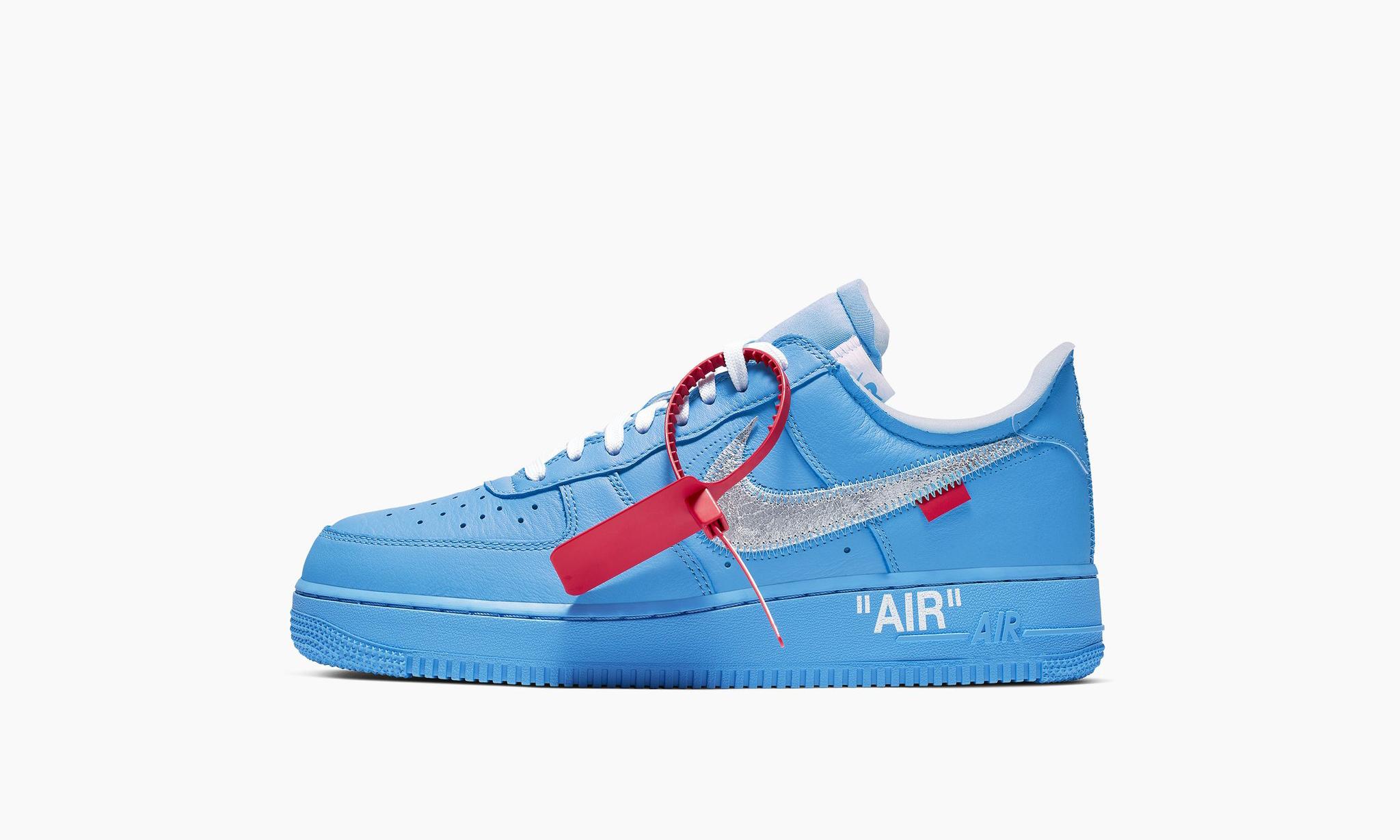 全新 Virgil Abloh x Nike Air Force 1 官方图片及发售方式公开