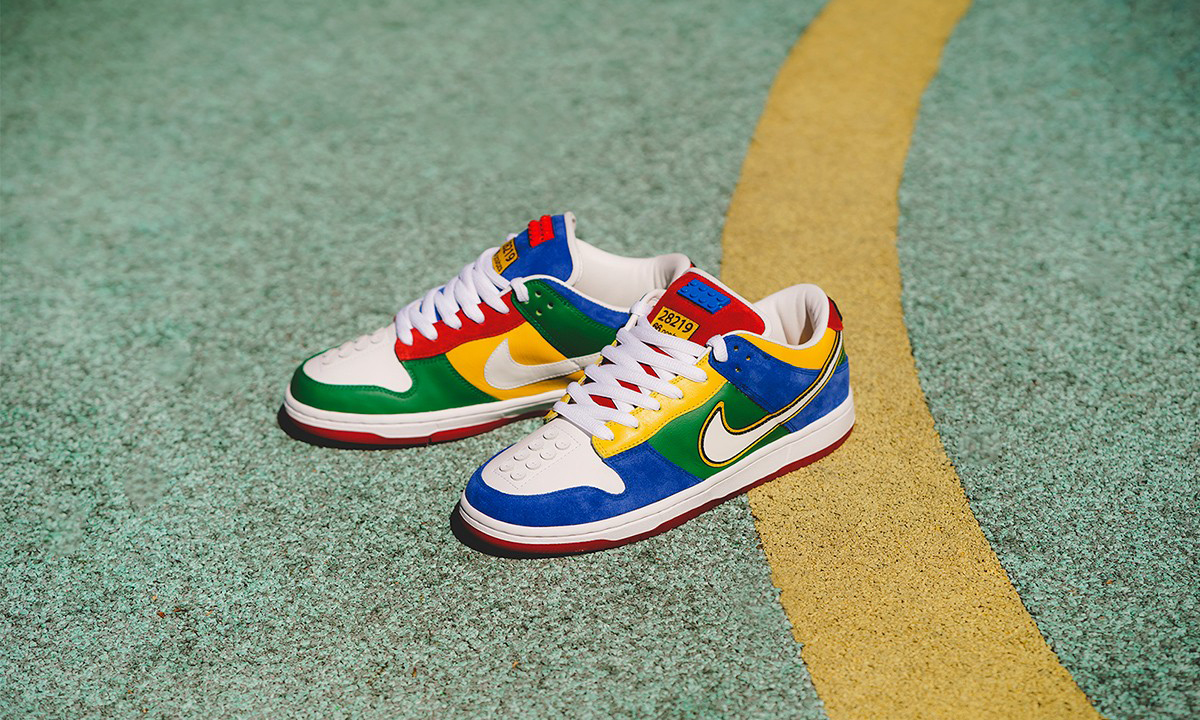 "BespokeIND 打造童趣十足的 Nike SB Dunk Low ""LEGO"""