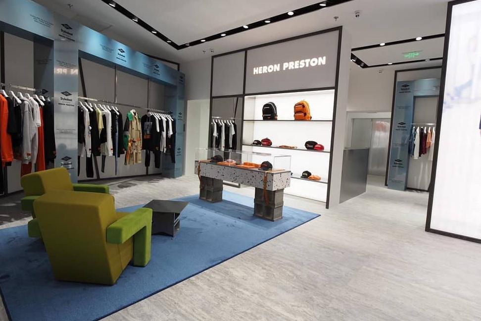 Heron Preston 将于上海开设全新店铺