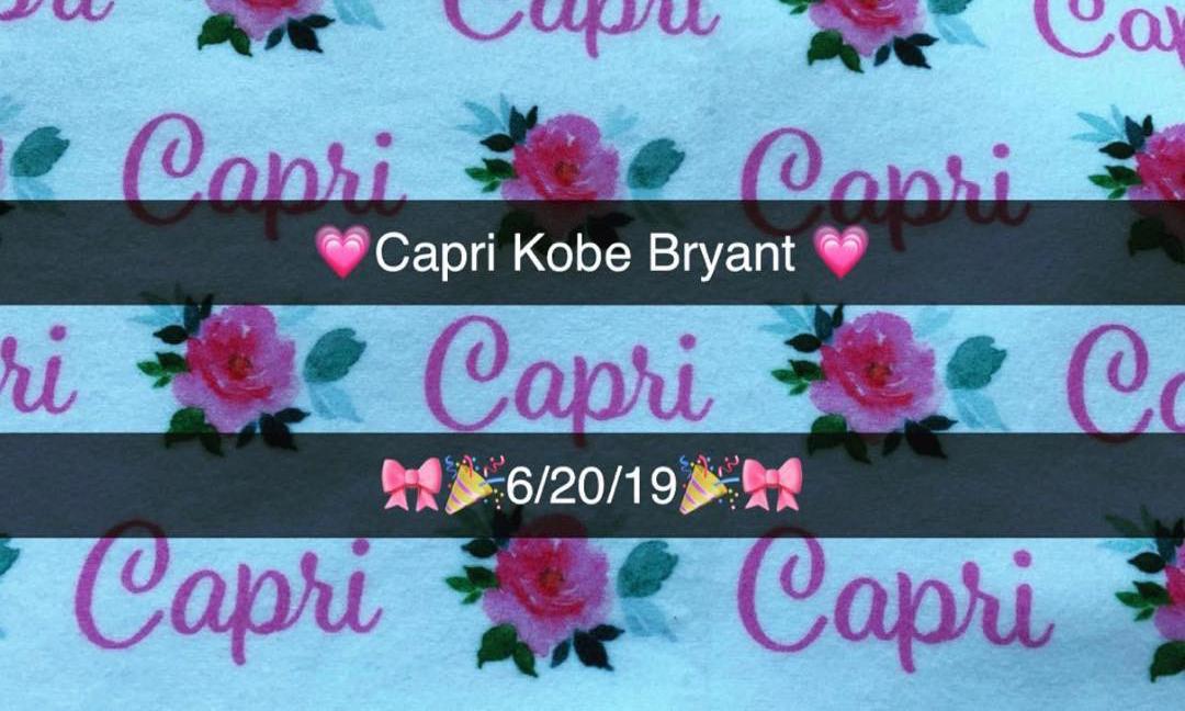 科比宣布第四个女儿 Carpi 平安降生