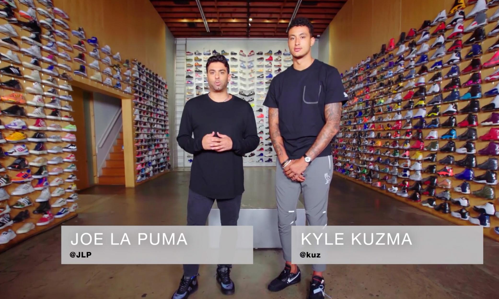 凯尔·库兹马做客本季最后一期《Sneaker Shopping》节目