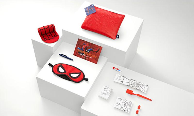 美联航推出《蜘蛛侠:英雄远征》合作视频与旅行套装