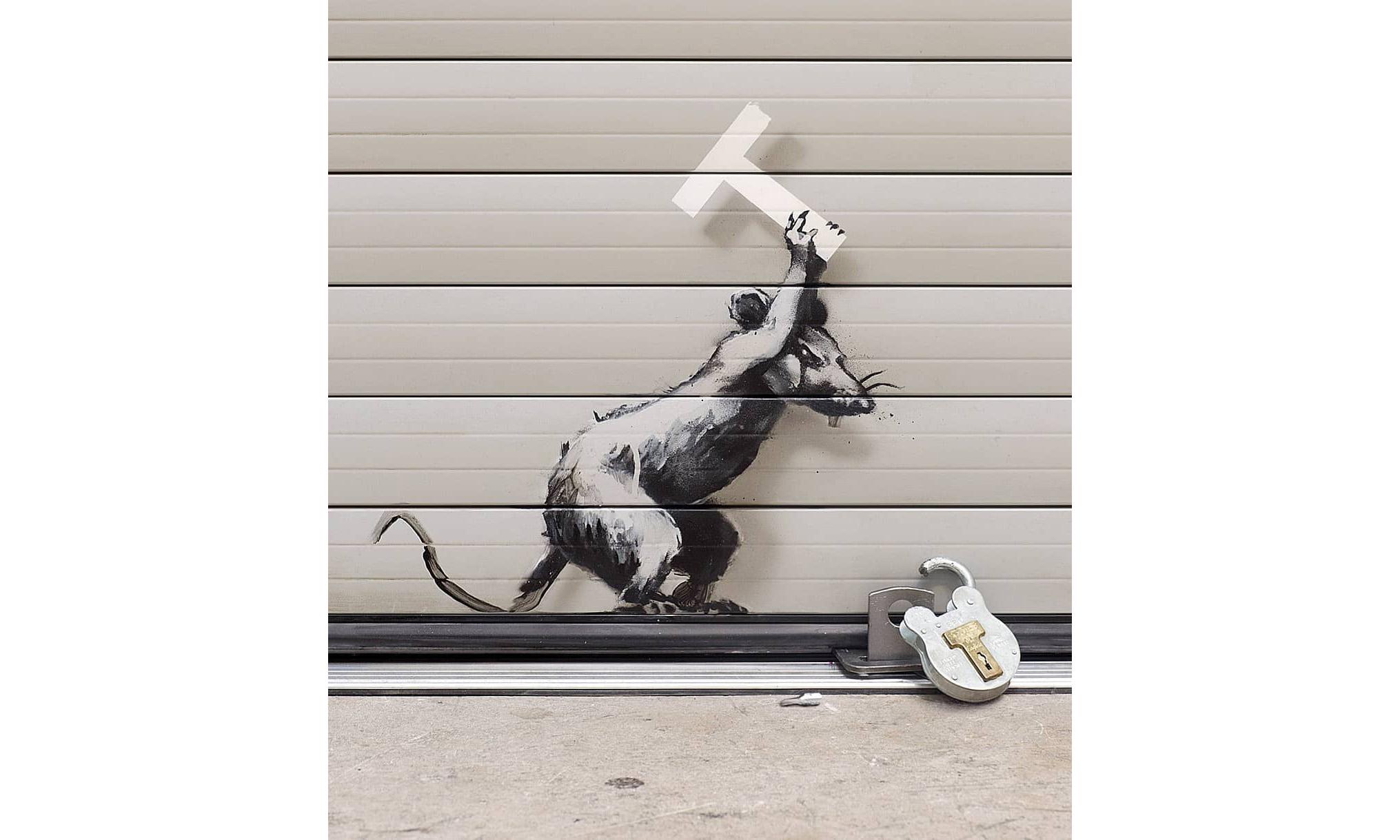 Banksy 于伦敦再次表达对英国脱欧的不满