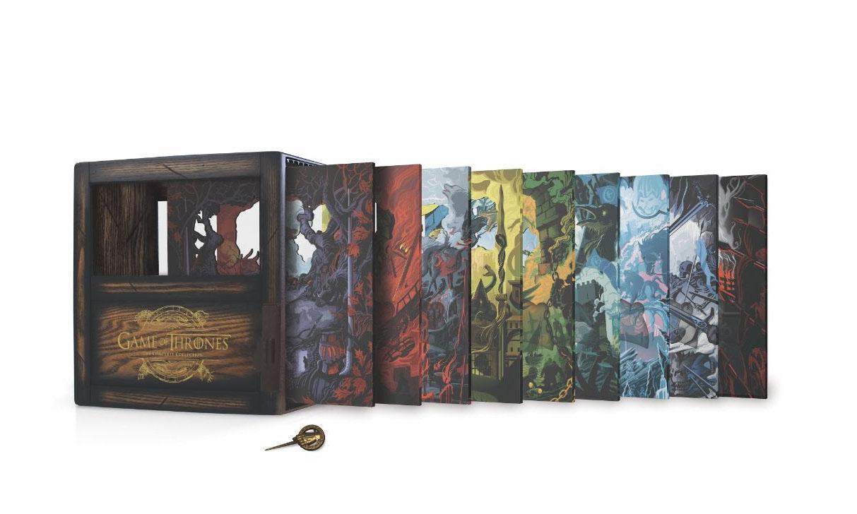 剧迷收藏佳品,HBO 发布《权力的游戏》蓝光限定套装