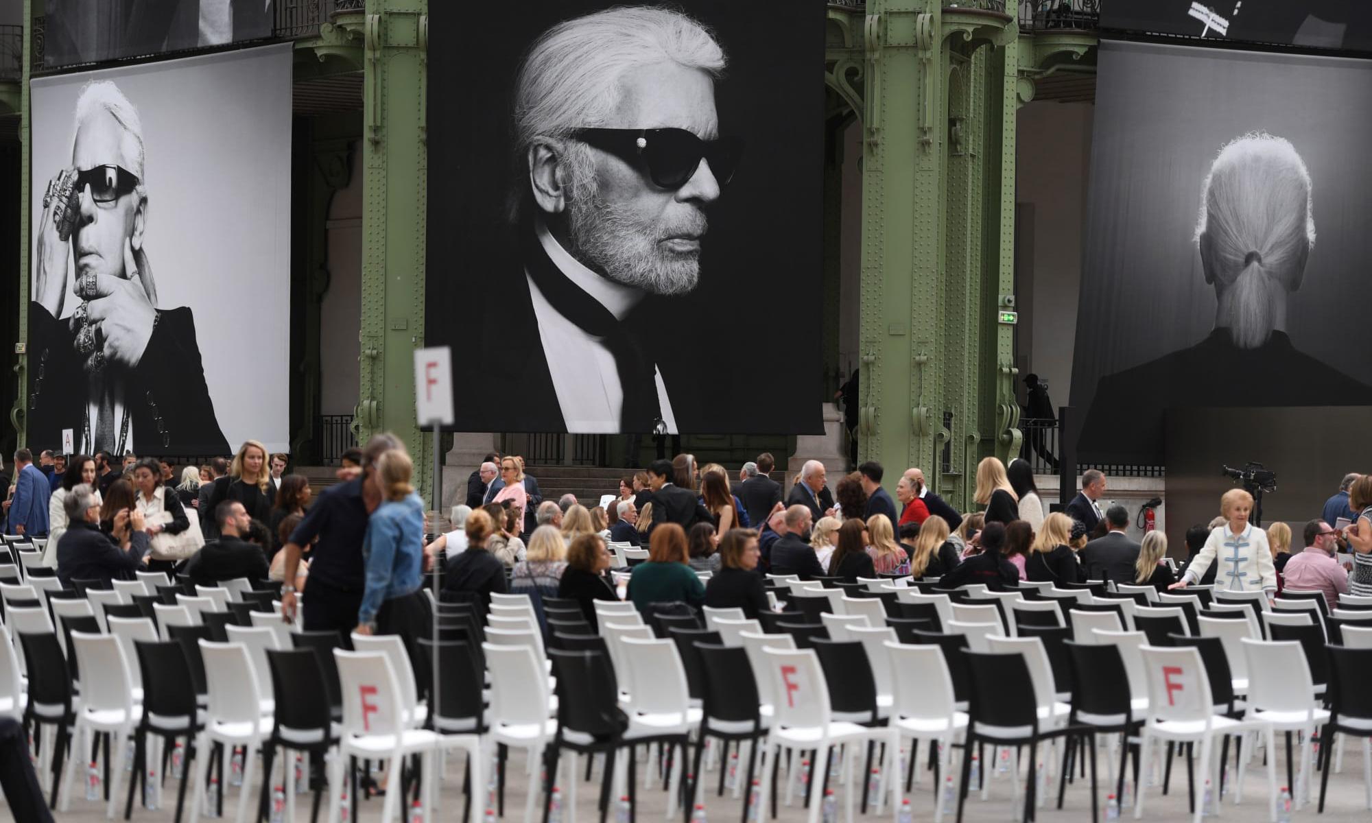 "Chanel 联手 Fendi 于巴黎举办 ""Karl For Ever"" 纪念活动"