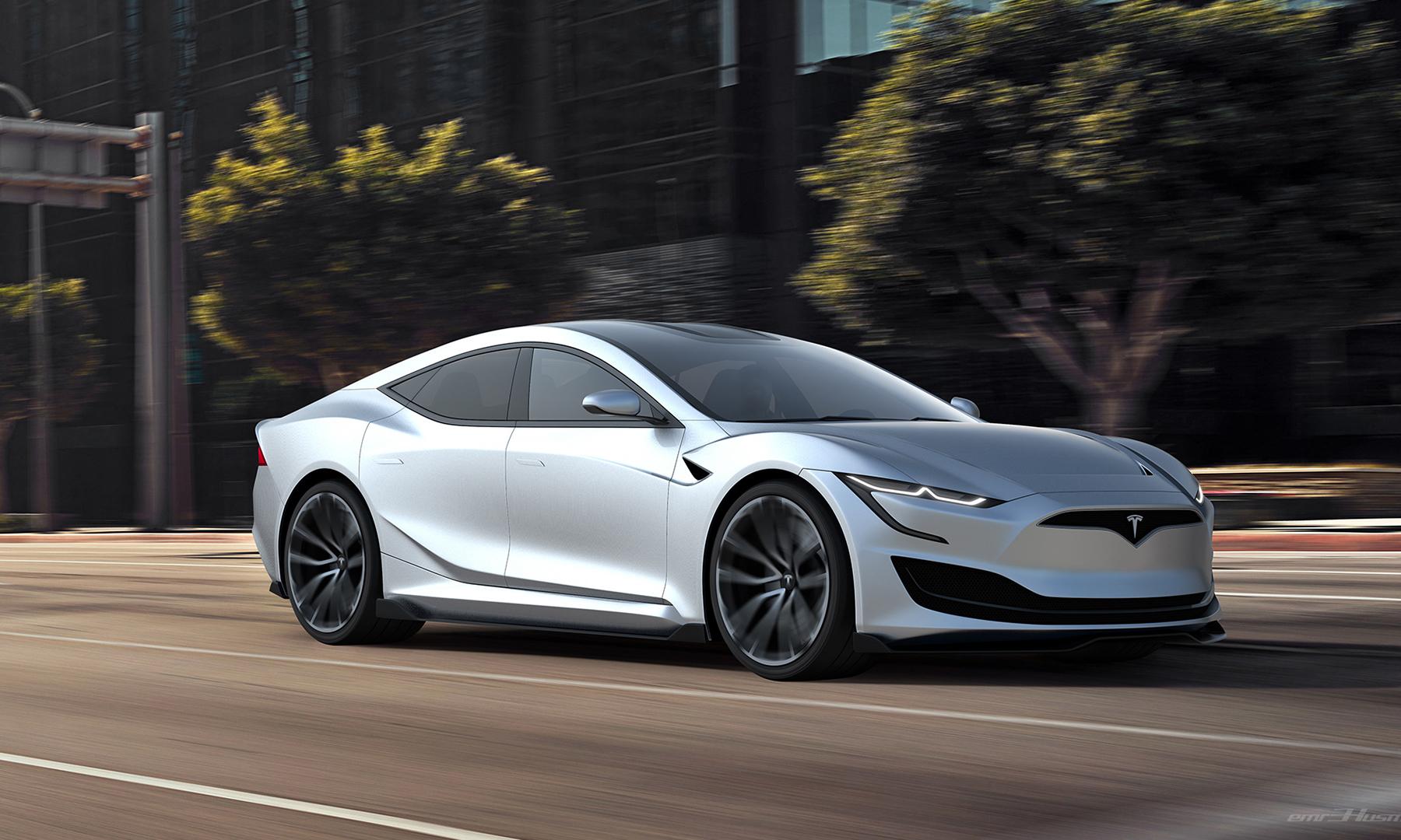 设计更加前卫,特斯拉 Model S 全新运动版曝光