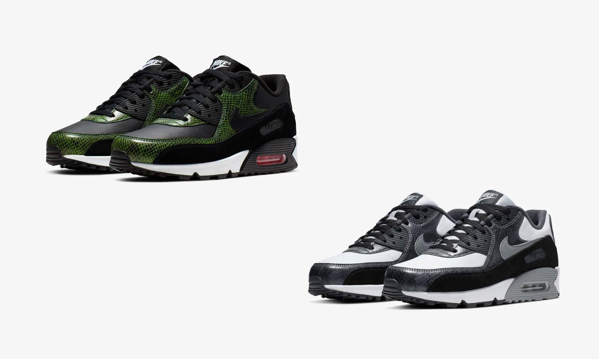 Nike 将在 12 日于 DOE 提前发售 Air Max 90 Python