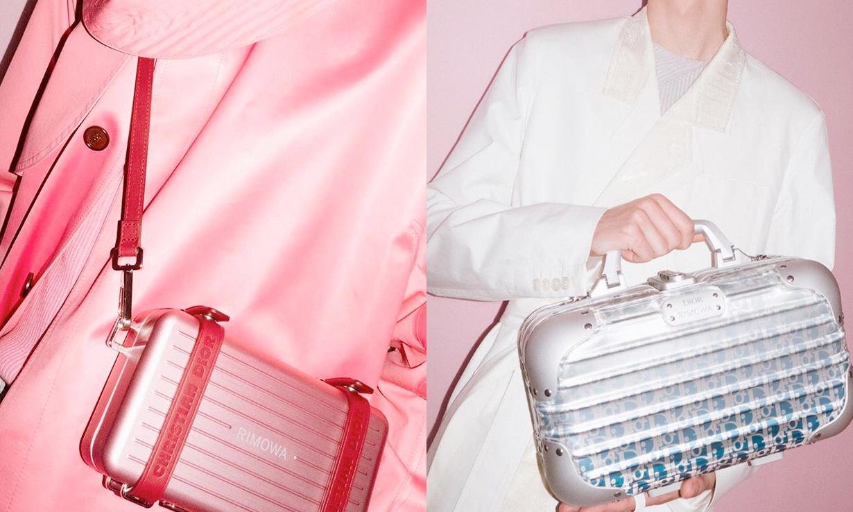 缩小行李箱变精致手袋,RIMOWA x Dior 携手推出配件
