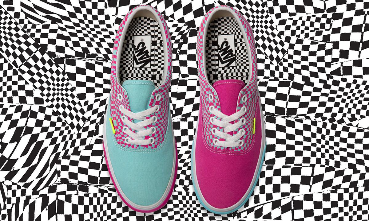 迷幻灵感,size? x Vans 联名鞋款发售
