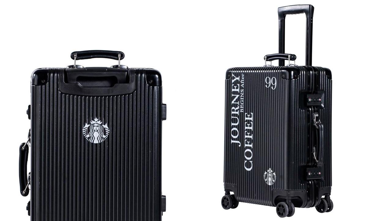 星巴克这次不卖咖啡,推出限量款行李箱
