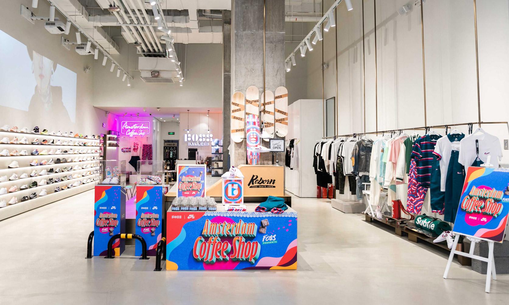 Parra x Nike 滑板盛宴,FOSS 沈阳特别打造 Amsterdam Coffee Shop