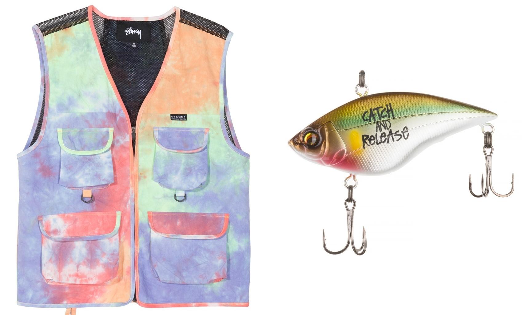 Stüssy 发布最新胶囊系列,穿上它们去钓鱼?