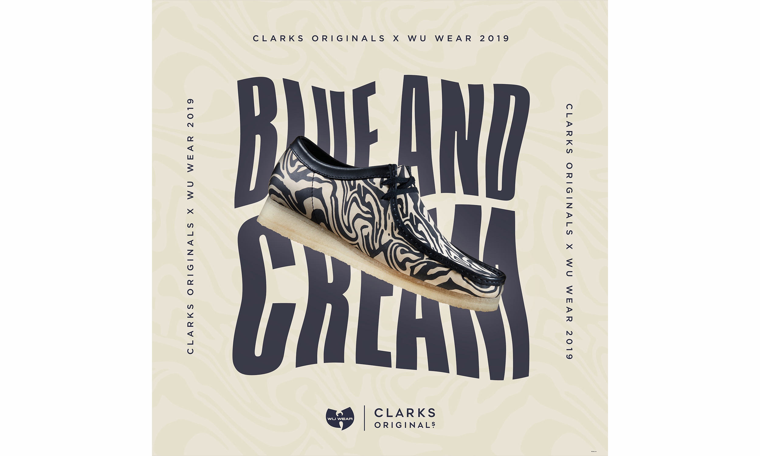 Wu Wear x Clarks 联名 Wallabee 鞋款第 2 弹释出