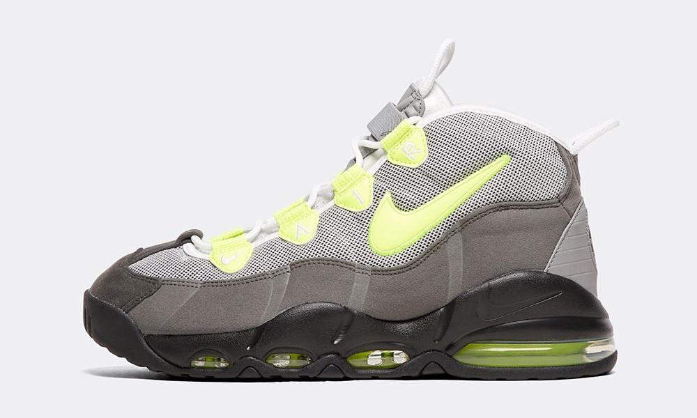 "Nike Air Max Uptempo ""Neon"" 正式发布"