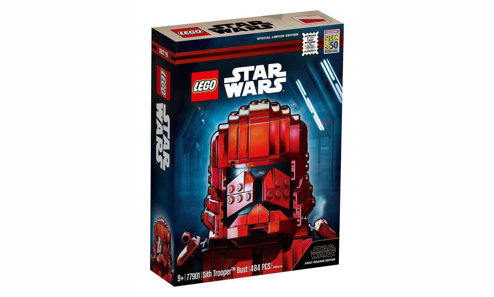 LEGO 发布 《星球大战:天行者崛起》西斯士兵胸像