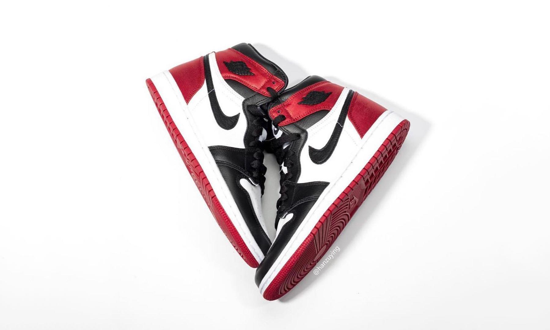 """发售提前!Air Jordan I 丝绸版 """"黑脚趾"""" 将于下月发售"""