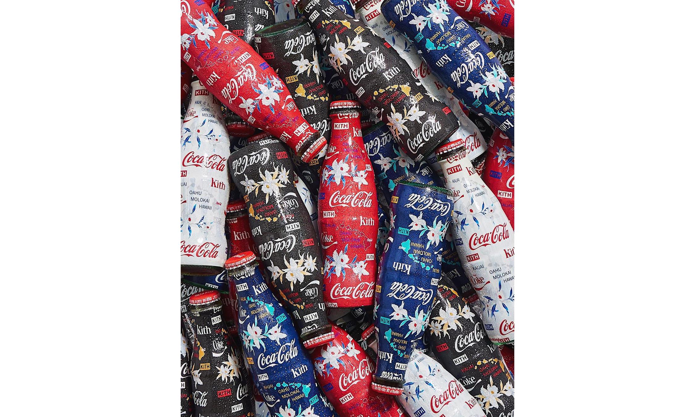 Ronnie Fieg 晒出 KITH x 可口可乐 2019 限定可乐瓶设计