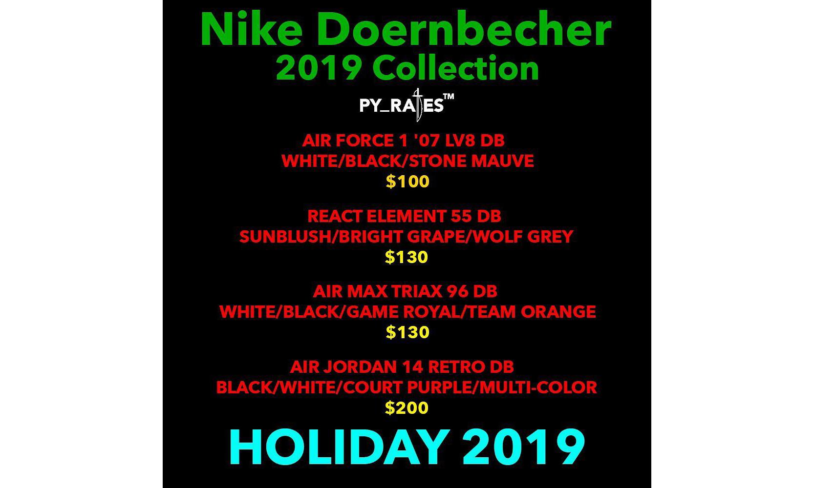 Nike Doernbecher Freestyle 2019 系列发售计划释出