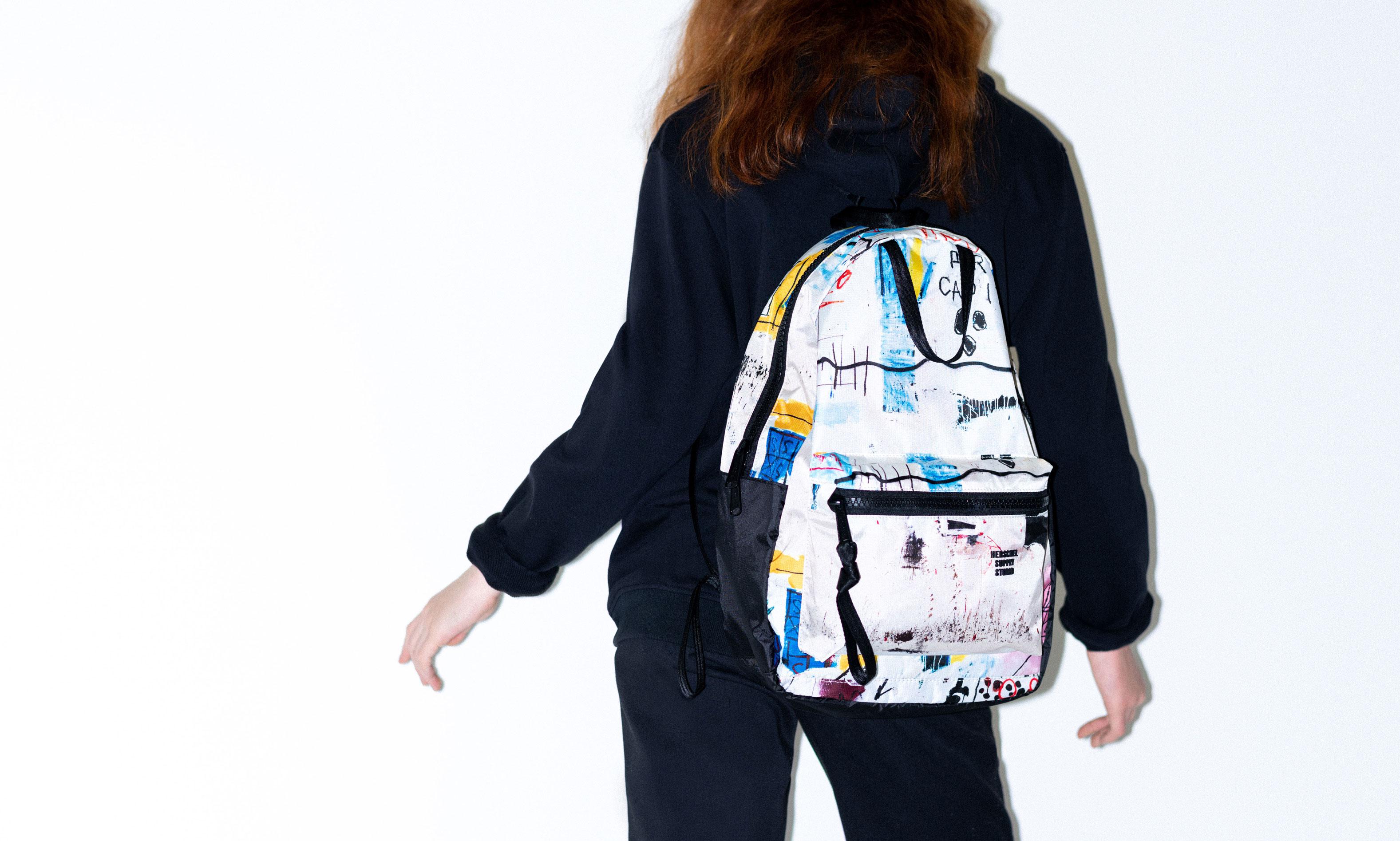 Herschel Supply 推出艺术家 Jean-Michel Basquiat 系列
