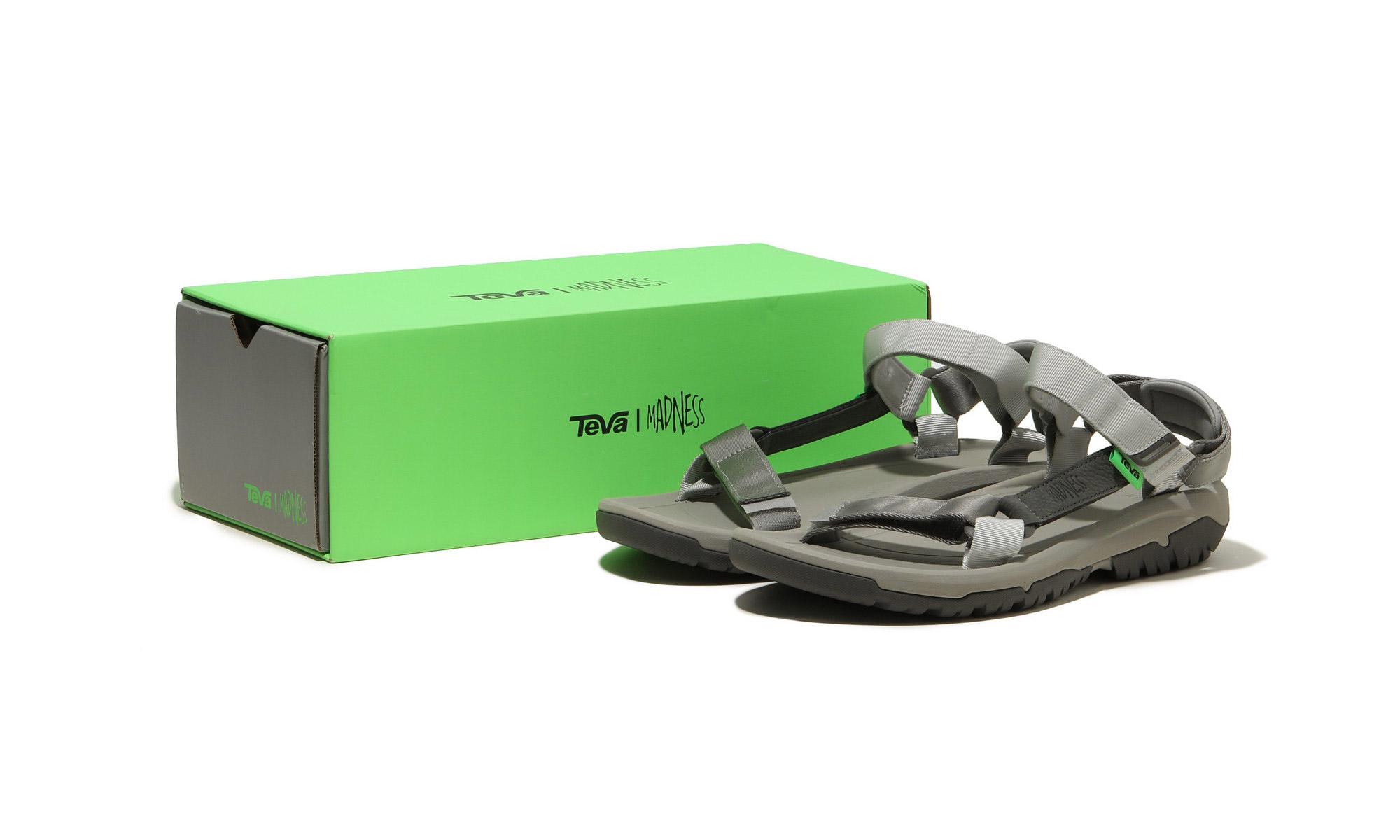 摩登户外与环保理念的碰撞,Teva x MADNESS 联名凉鞋登场