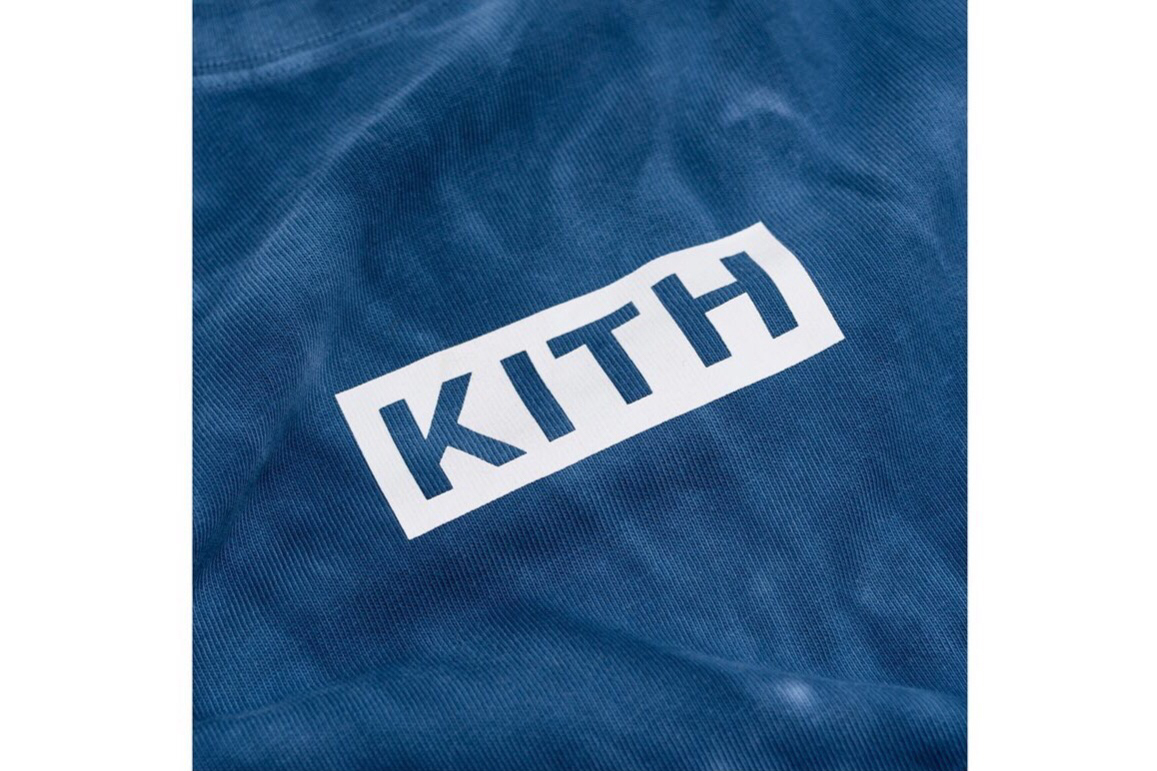 KITH Monday Program 释出全新撞色扎染 Tee