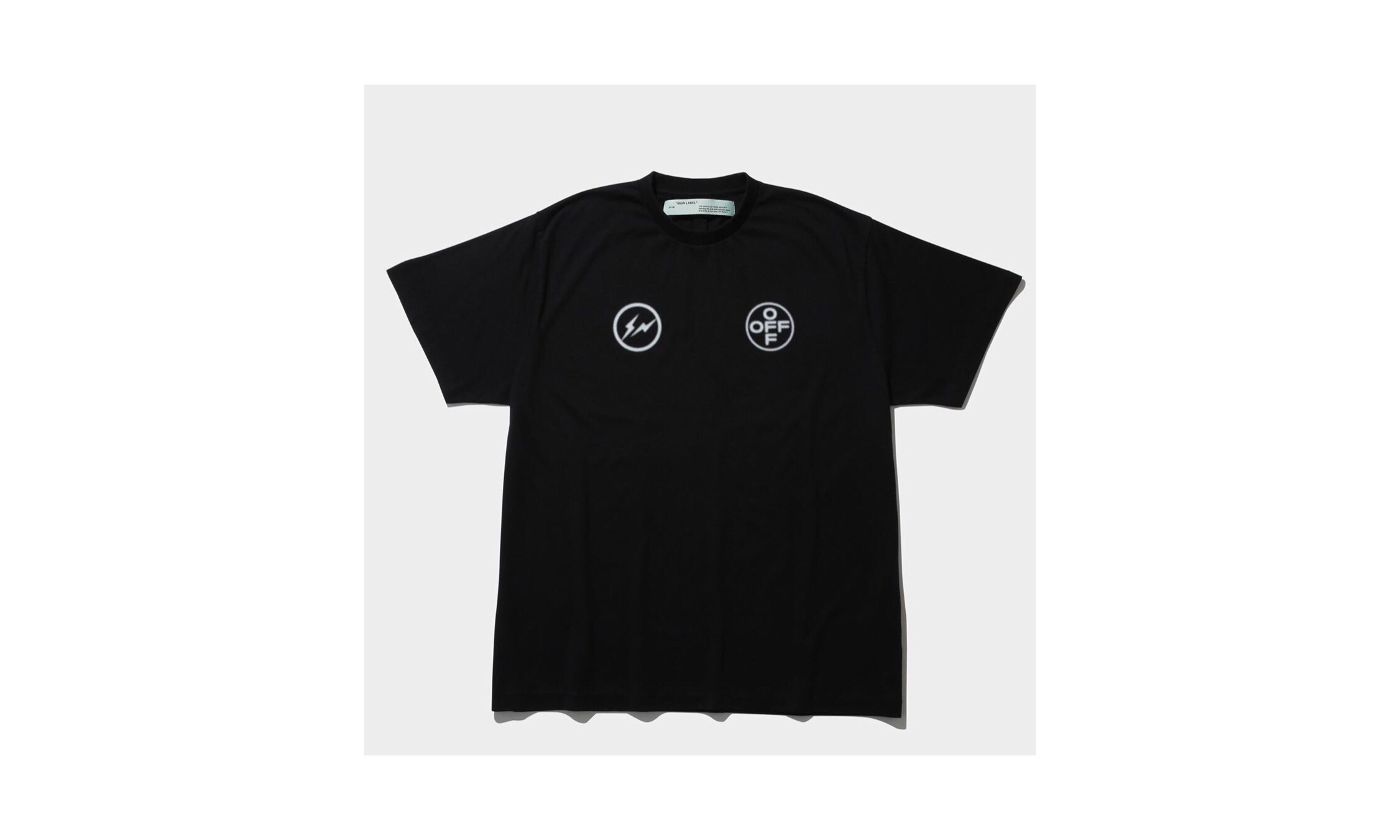藤原浩曝光全新 Fragment x Off-White™ T 恤