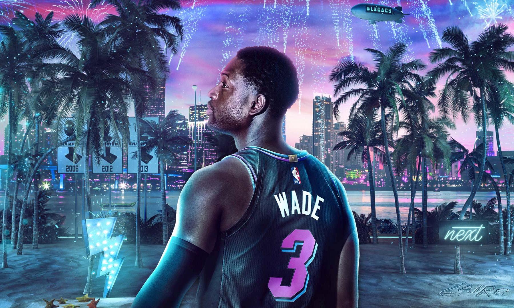 韦德成为 NBA 2K20 传奇版封面人物