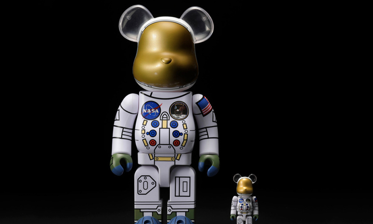 MEDICOM TOY 携手 NASA 释出全新宇航员 BE@RBRICK