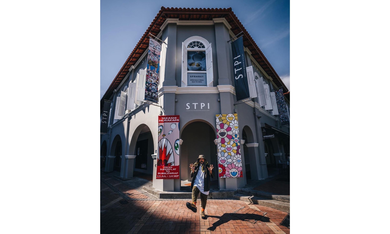 "STPI 即将举办  ""From Superflat to Bubblewrap"" 村上隆大型展览"