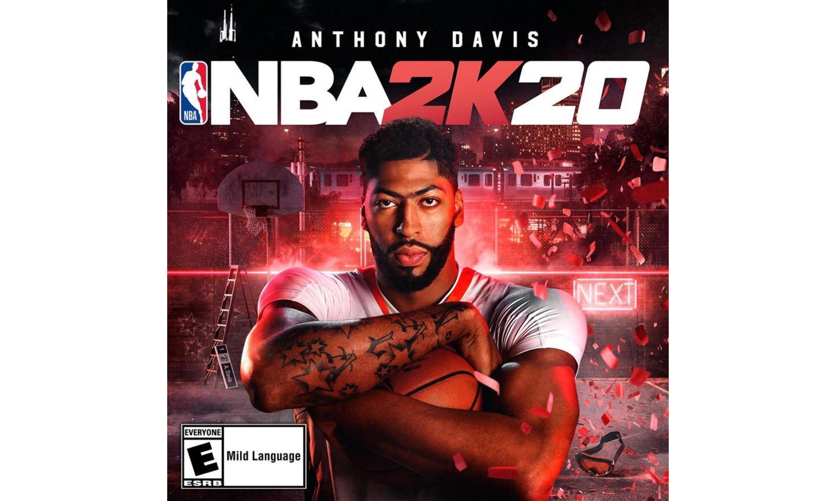 安东尼·戴维斯成为 NBA 2K20 封面代言人