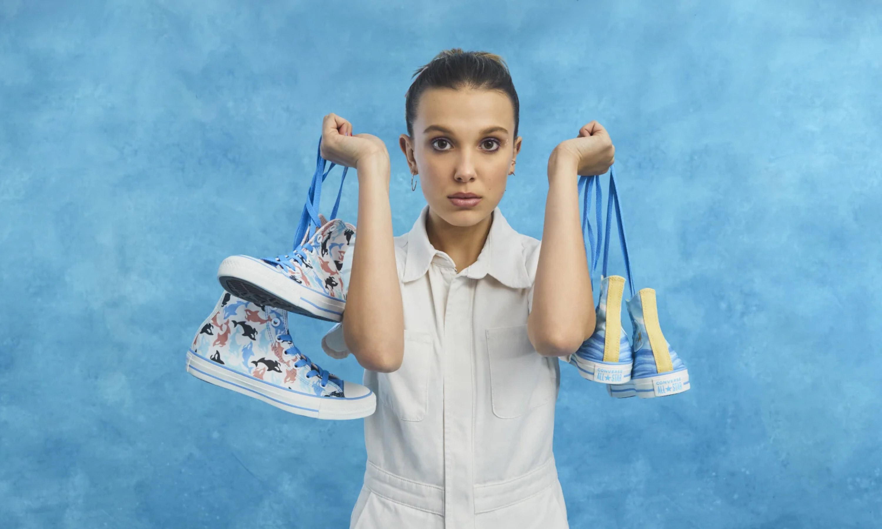 "Millie Bobby Brown x CONVERSE ""Millie By You"" 个性定制系列即将上线"