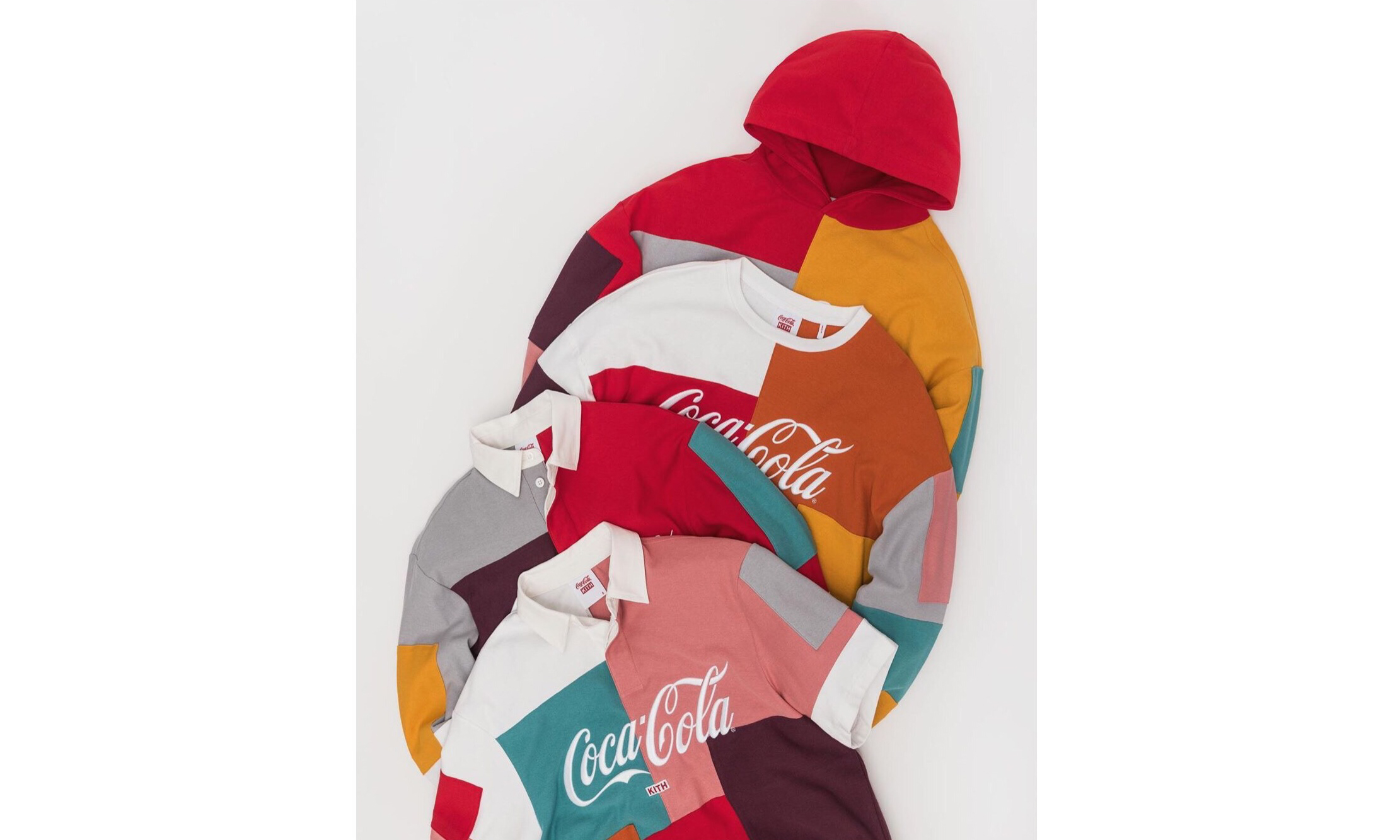 Ronnie Fieg 展示部分 KITH x 可口可乐新一季联名单品