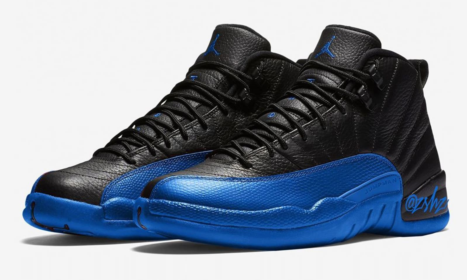 "Air Jordan XII 推出 ""Game Royal"" 配色新靴"