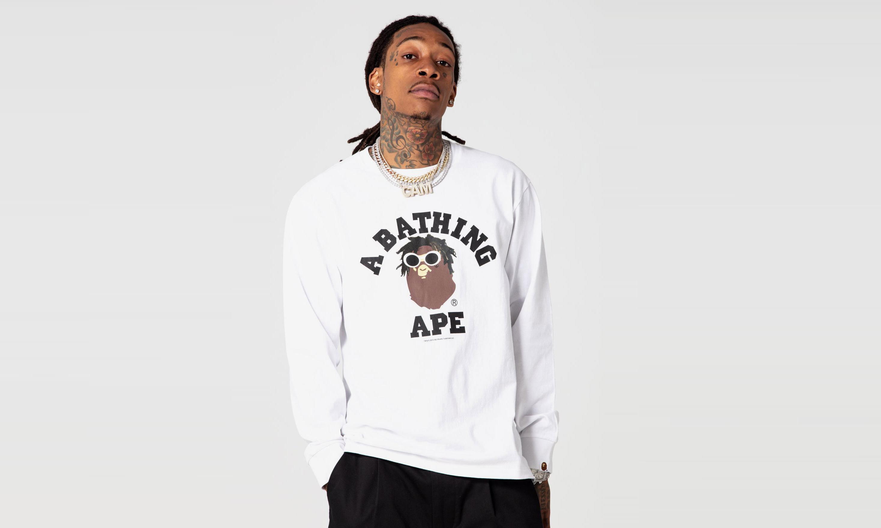 Wiz Khalifa 与 A BATHING APE® 再度合作推出胶囊系列