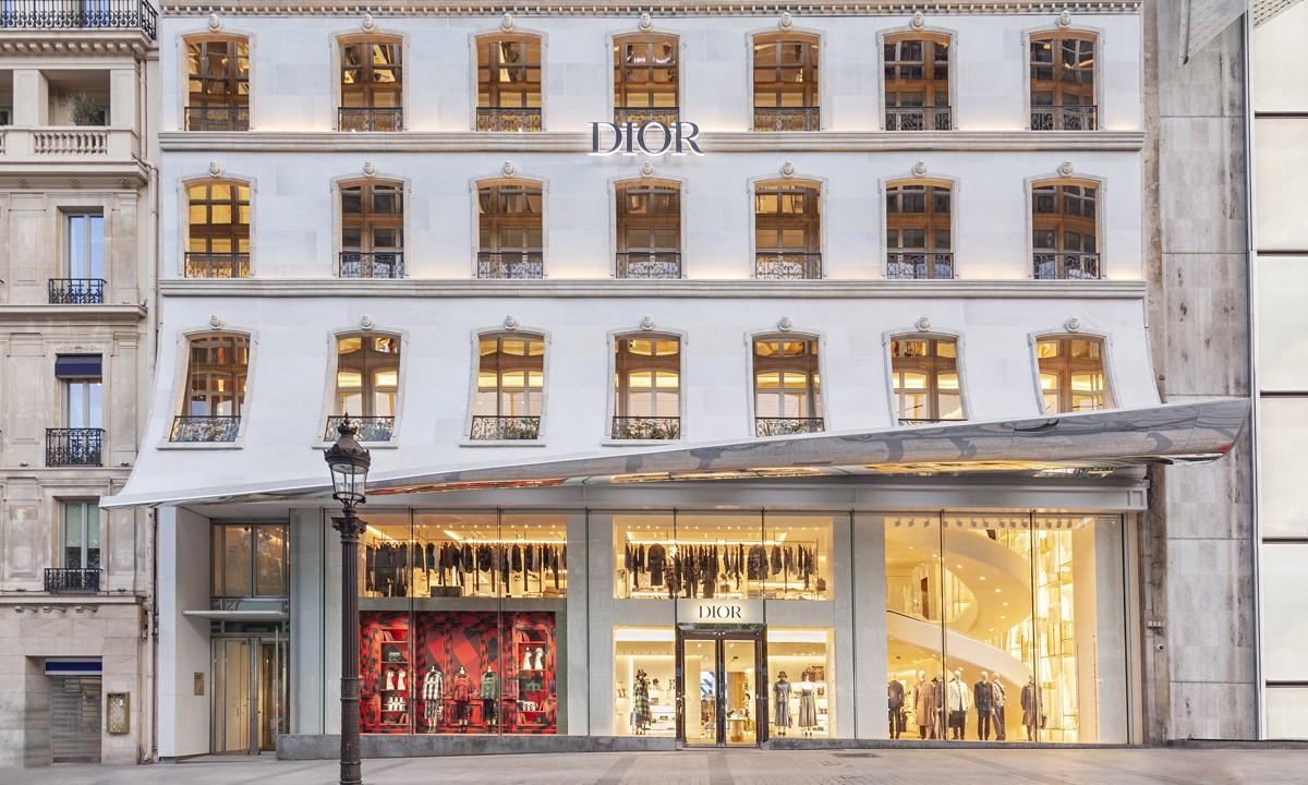 一览 Dior Champs Elysees 精品店