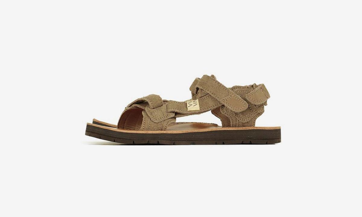 visvim 2019 春夏新款麂皮凉鞋即将发售