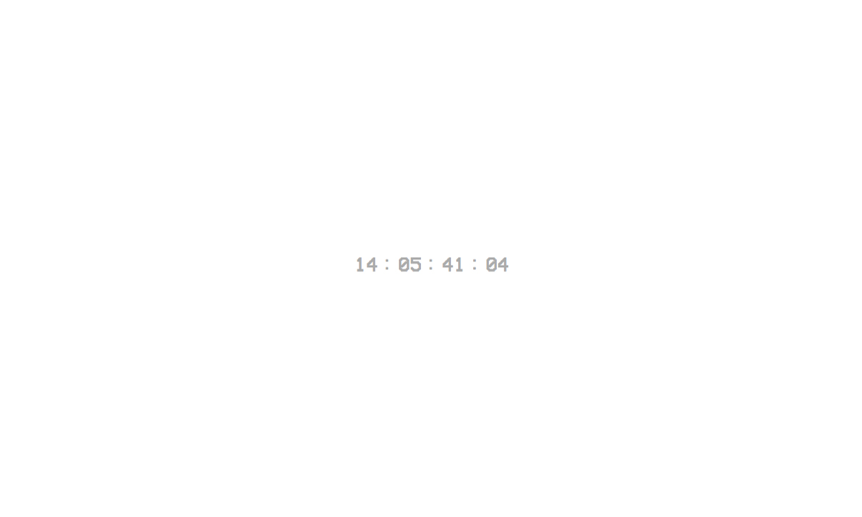 Yeezy Supply 官网上线神秘倒计时页面