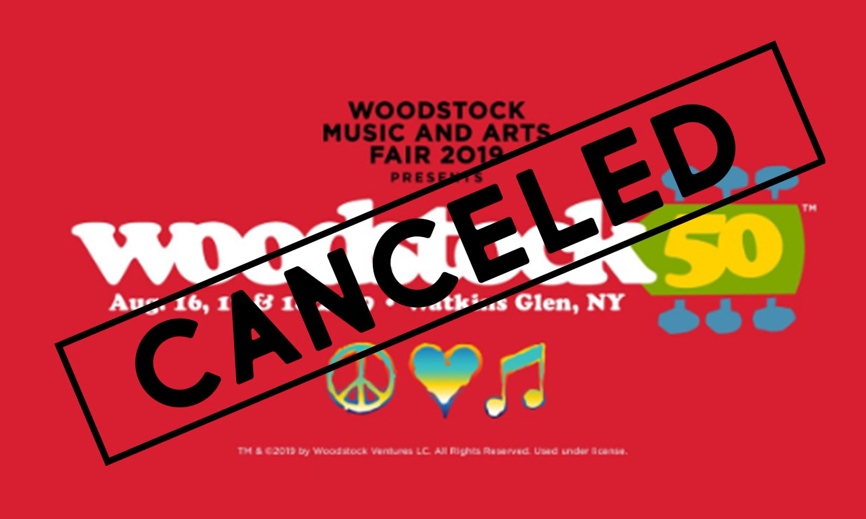 伍德斯托克 50 周年音乐节遭取消