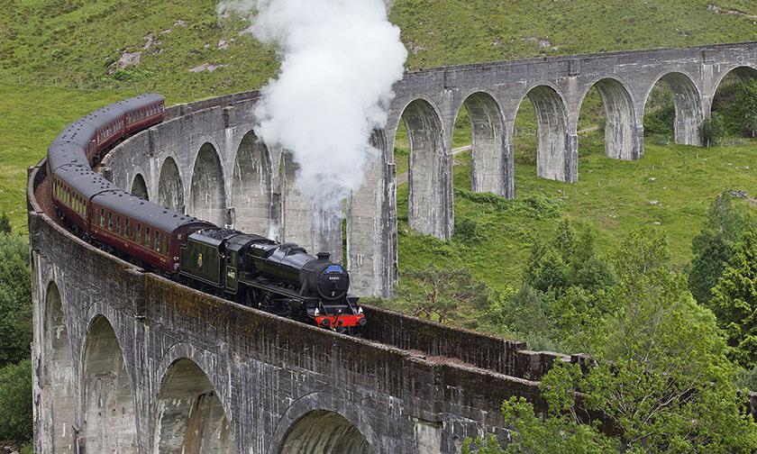 真实版《哈利波特》霍格沃茨特快火车开放乘坐