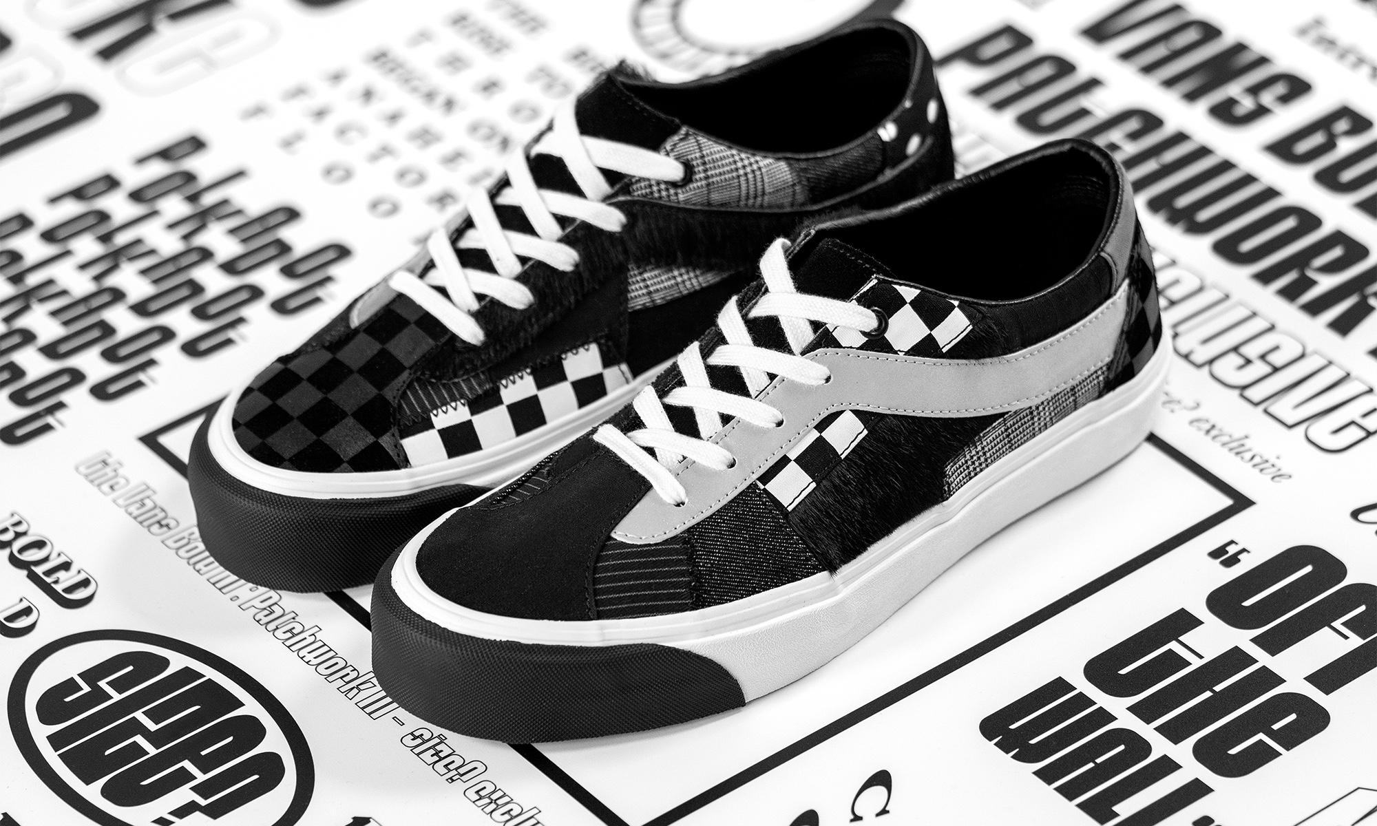 """Size?x Vans Bold Ni """"Patchwork III"""" 鞋款正式发布"""