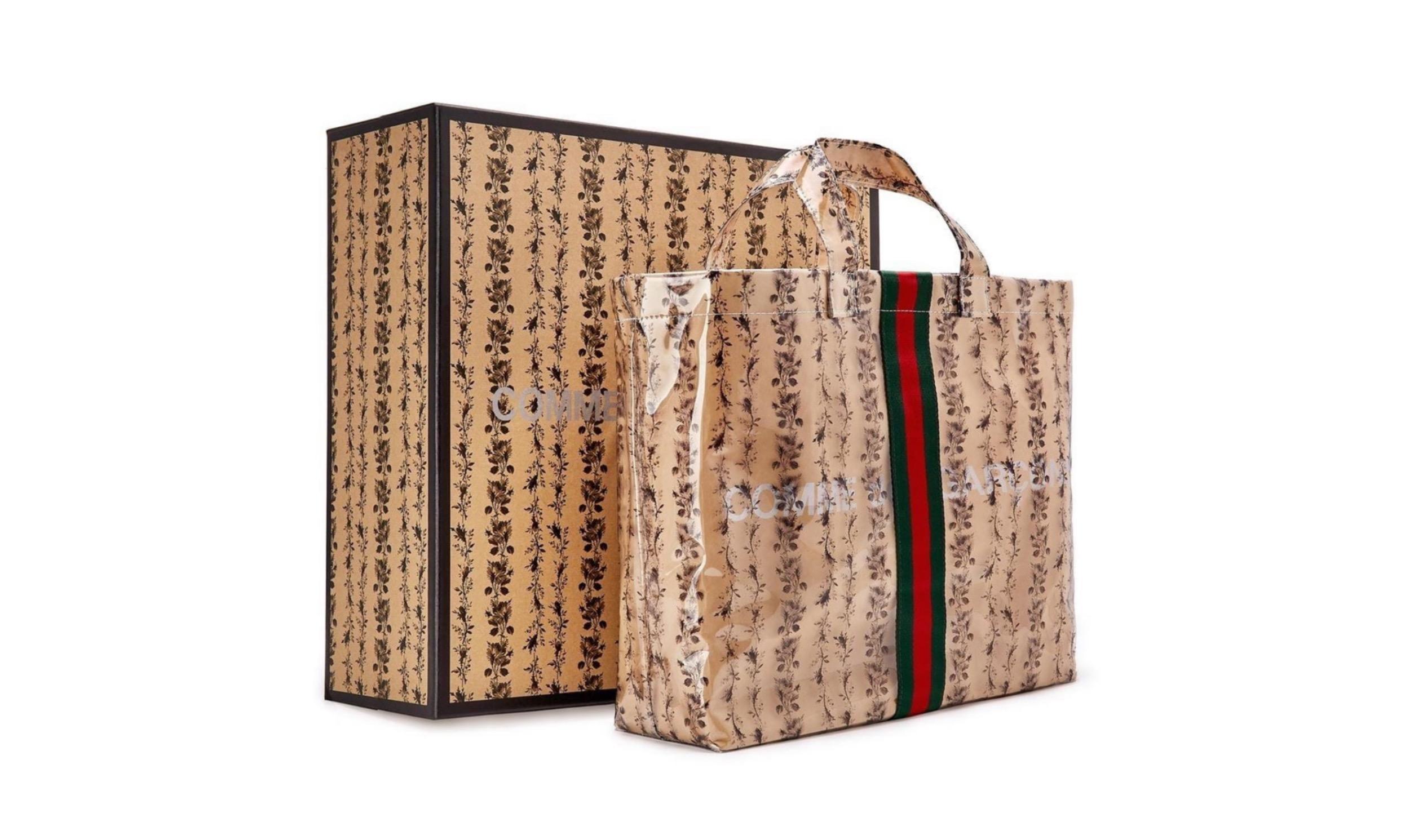 Comme des Garçons x Gucci 推出全新 PVC 材质包款