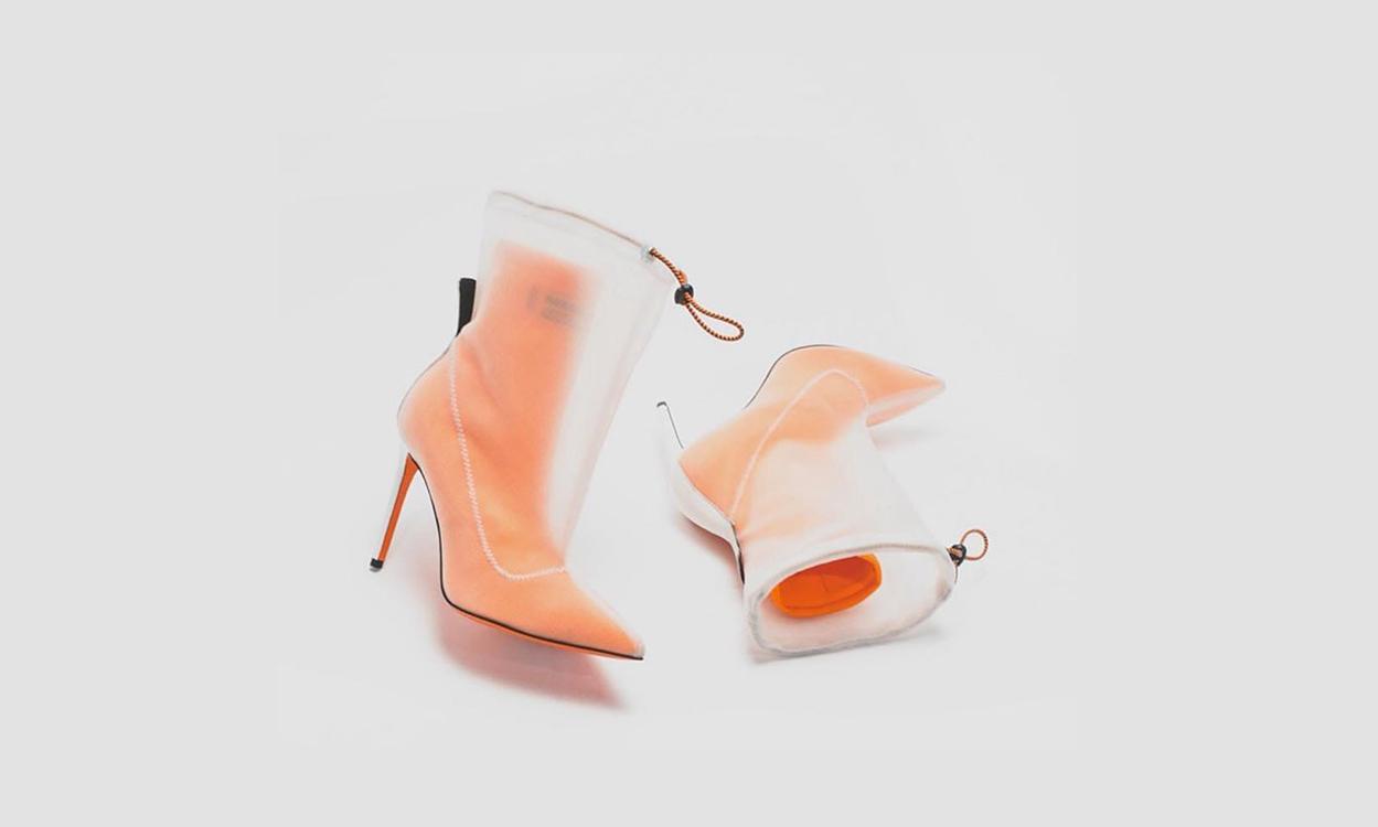 Heron Preston 全新 Neoprene bootie 鞋款登场