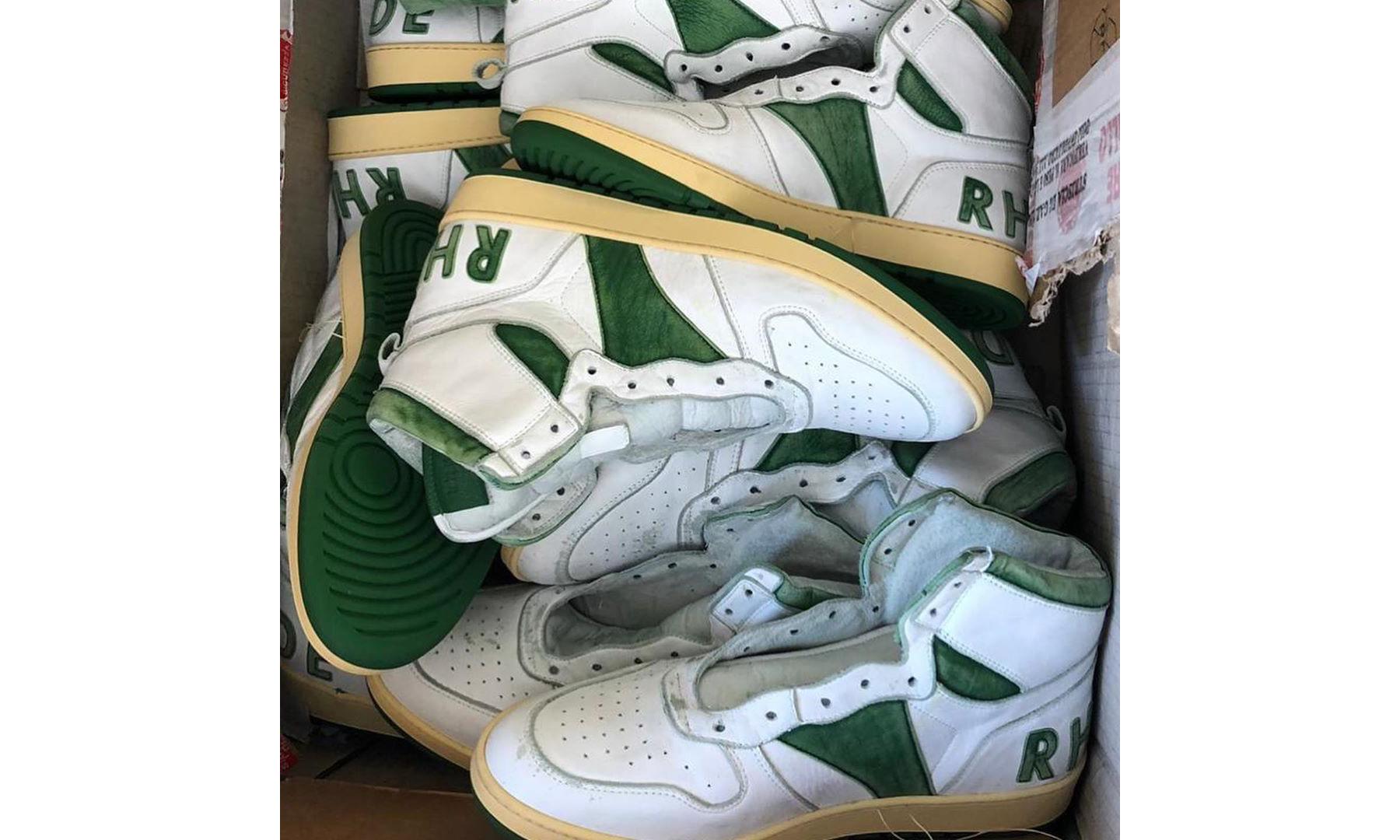 RHUDE 推出意大利手工制作全新复古篮球鞋款