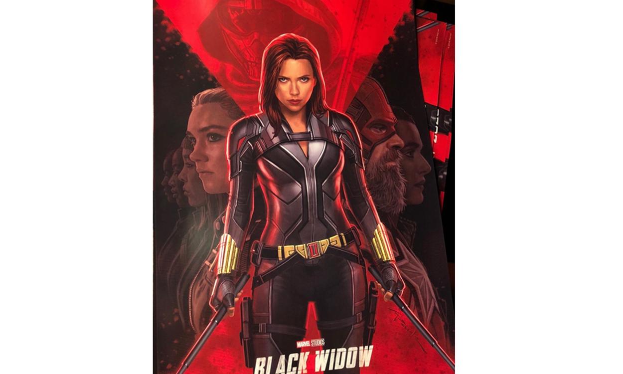 漫威《黑寡妇》独立电影释出首张官方海报