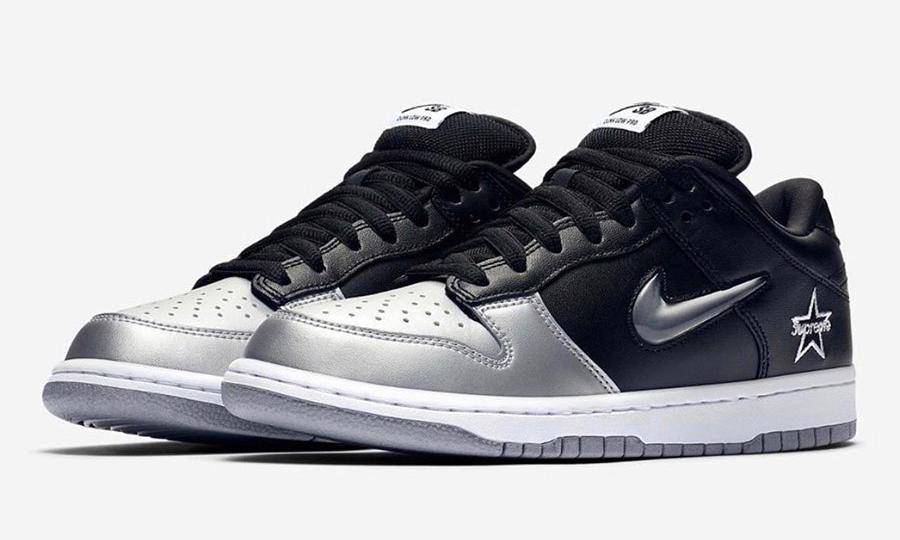 抢先完整预览 Supreme x Nike SB Dunk Low