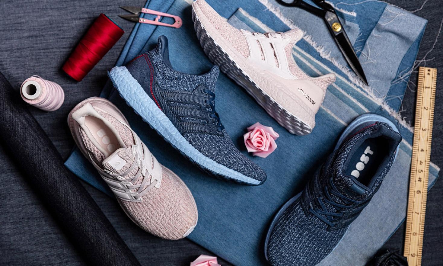 与 ta 一起奔向甜蜜,adidas 推出 UltraBOOST V-DAY 情侣限定跑鞋
