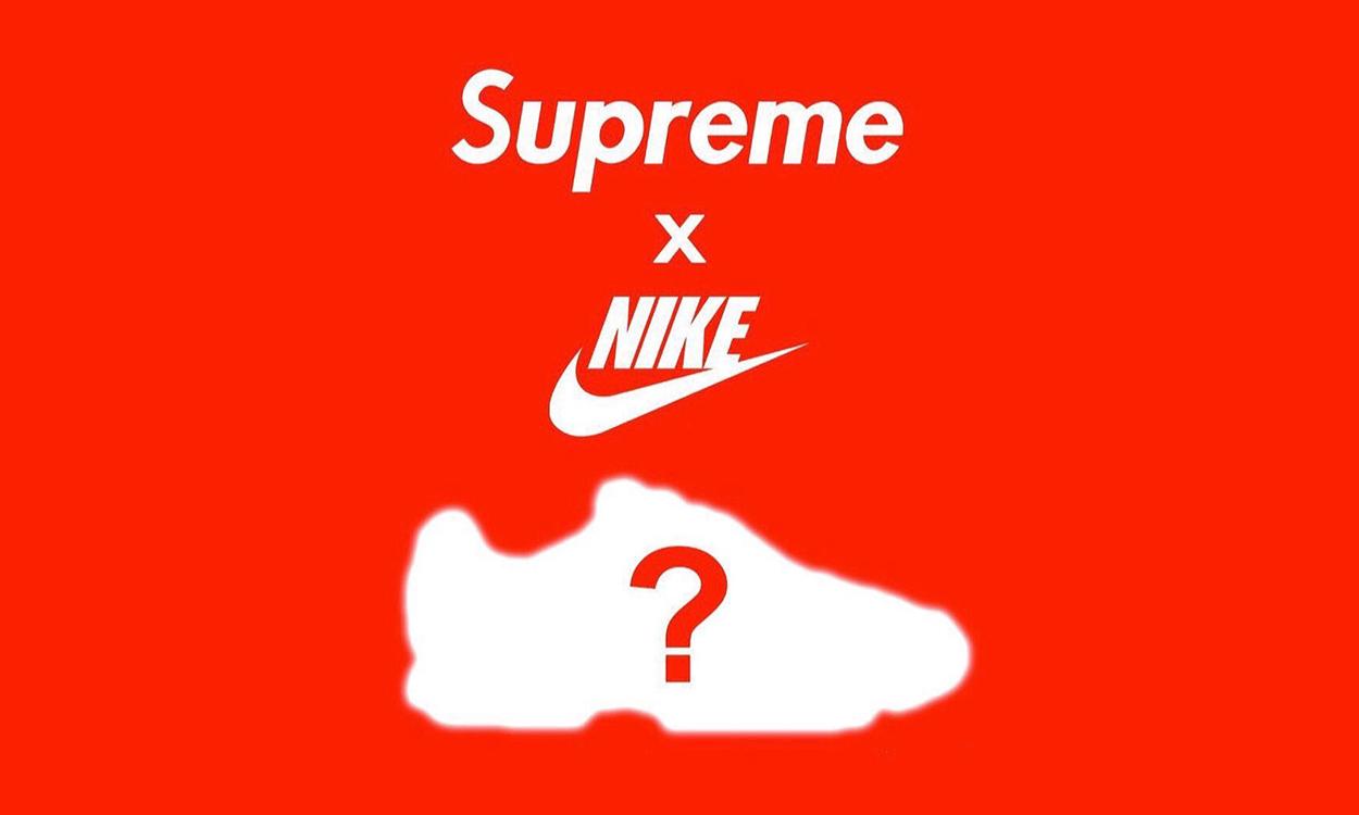 Supreme x Nike 全新联乘企划曝光