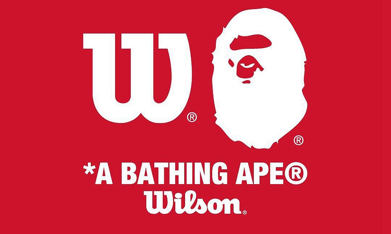A BATHING APE® x Wilson 限定胶囊系列预告发布